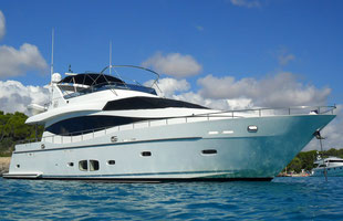 Yacht charter Monte Fino 78 included crew