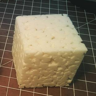 Cube poreux pour essai en labo