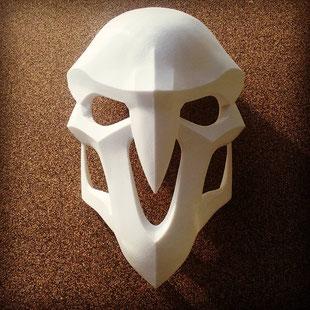 Masque de Reaper pour un cosplay