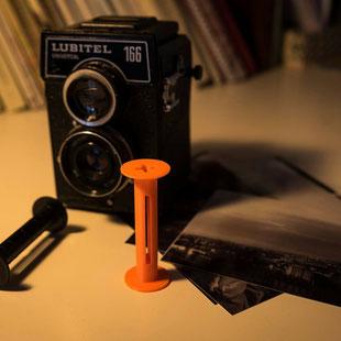 Rénovation appareil photo ancien