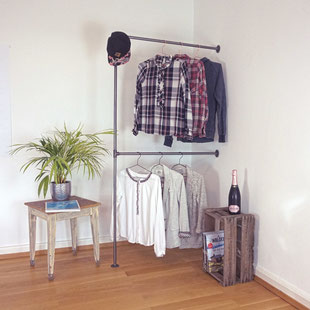 Industrial Garderobe