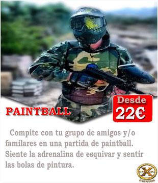 paintball Tenerife
