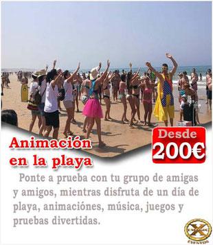 Animador para fiestas en Huelva