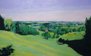 Landschaft bei Vaals, 2009, Öl auf Leinwand, 150 x 200 cm
