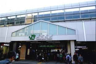 現在の桜木町駅(初代横浜駅)