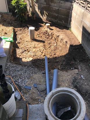 排水マス交換工事