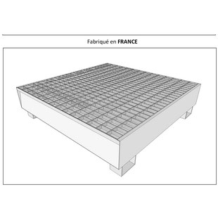 bacs de rétention sur-mesure pour transformateurs électriques