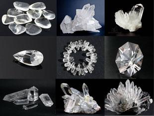 Quartz blanc - cristal de roche  - casa bien-être.fr -