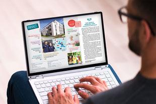 Unsere Kompetenz – Produktion Print & Digital