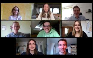 Die Tübinger Senkrechtstarter veranstalten ihre Gruppentreffen während der Corona-Pandemie digital.