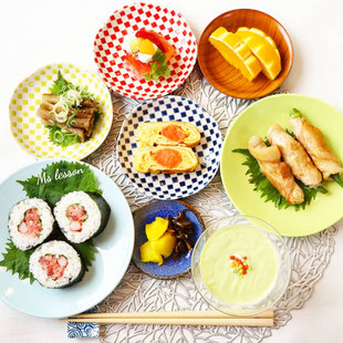 山岡真千子 和食の写真