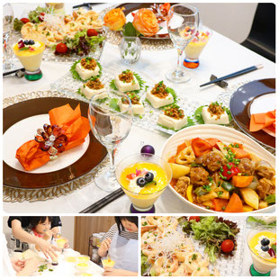 親子料理教室 山岡真千子 やまおかまちこ 東京都 親子料理教室