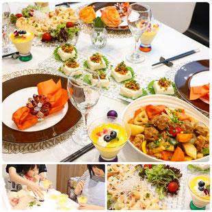 親子料理教室 エムズレッスン 新宿区 豊島区 中野区