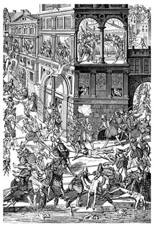 24 août 1572, Le Massacre de la Saint-Barthélemy