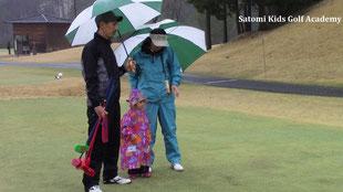 ずっと楽しみにしてくれていたゴルフ場だよ!