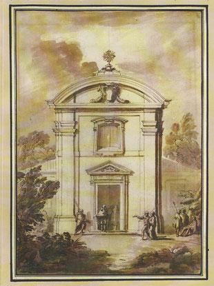 проспект фасада церкви