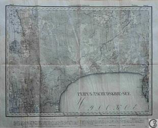 Stabskarte 1914 Gouvernement Sankt Petersburg, Tschorna, Mustvee, Grenzregion Livland, Estland, heute Lettland, Baltikum