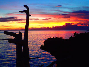 Sun-set at Siquijor Island