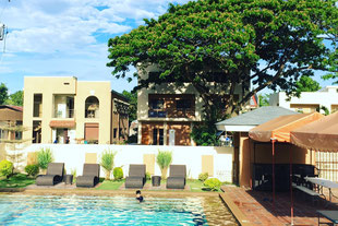 Splendid pool -the biggest private pool in Dumaguete.