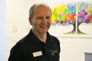 Michael Schilling, Zahntechniker in der Zahnarztpraxis in Fritzlar