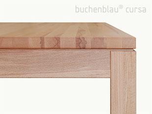 buchenblau Tisch cursa