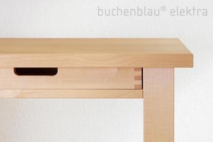 Schreibtisch nunki mit Schubkasten