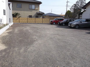 月極貸し駐車場 桐生市新宿2丁目9-45