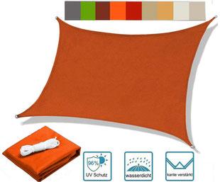 vela #tenda #ombreggiante #ombra #sole #impermeabile #rettangolare #PES #orange