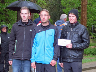 8. Platz Juniorteam des Idstedter Petanque Clubs