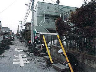 3.11震災後の復旧活動