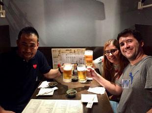 Kohei, Rocío, Alex