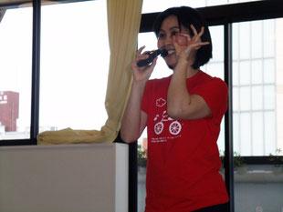 福岡市中央児童館「あいくる」にて顔ヨガ