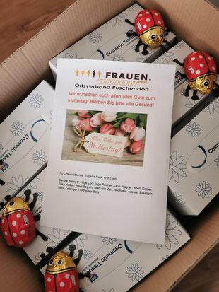 Frauen-Union Puschendorf Vorsitzende und Team wünscht alles Liebe zum Muttertag
