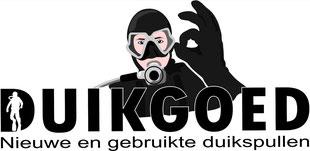 Druk op Logo duikgoed