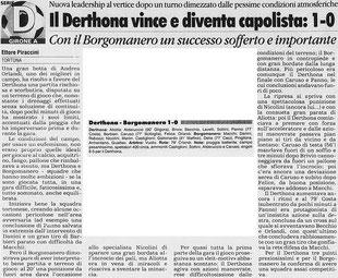 2000-01 Derthona-Borgomanero 1-0
