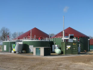 Novis Biogas Installation in GErmany