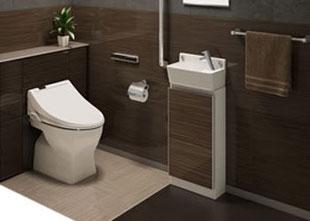 トイレ」リフォーム イメージ