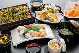 寿司天ぷら定食