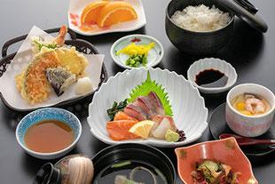 お刺身天ぷら定食