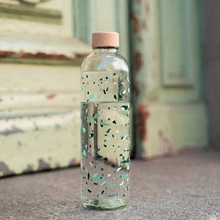 herzensdinge, Trinkflasche aus Glas