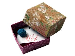 Geschenkbox, Papier, Faltschachtel