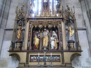 Josephsaltar, St. Georg