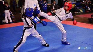 Kinder bei Kickboxen in Tettnang