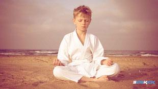 Junge macht Karate in Nonnenhorn