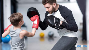 starke Kids beim Kickboxen in Langenargen