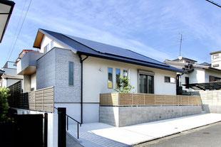 ナチュラルテイストのゼロ・エネルギー住宅(福岡市東区 N様邸)
