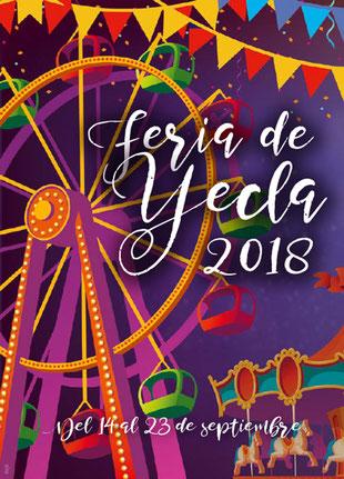 Programa de la Feria de Yecla