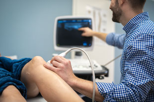 Ultraschall Gelenke Orthopäde Wandlitz