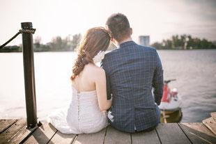 結婚カップル
