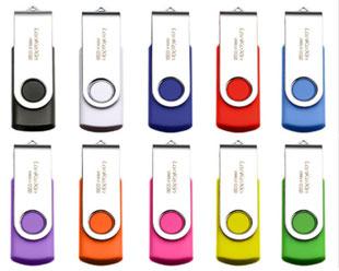 回転式USBメモリ